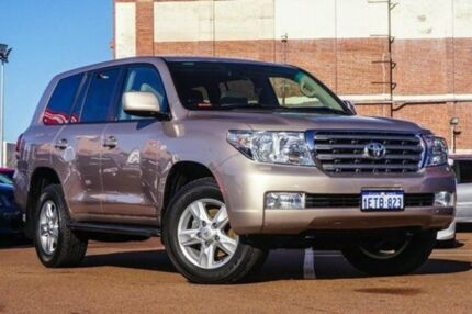 2012 Toyota Landcruiser VDJ200R MY10 Sahara Bronze 6 Speed Auto Seq Sportshift Wagon Fremantle Fremantle Area Preview