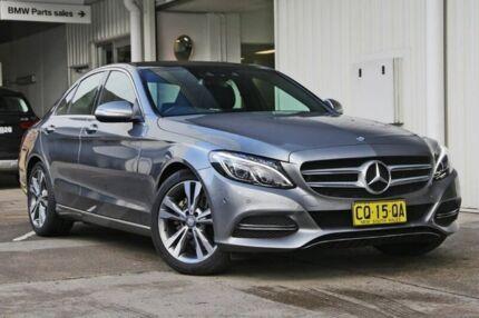 2014 Mercedes-Benz C200 Silver Sports Automatic Sedan Miranda Sutherland Area Preview