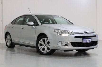 2011 Citroen C5 X7 MY10 2.0 HDI Comfort Silver 6 Speed Automatic Sedan St James Victoria Park Area Preview