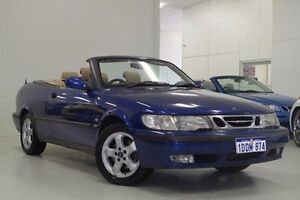2001 Saab 9-3 MY2001 S Blue 4 Speed Automatic Convertible Myaree Melville Area Preview