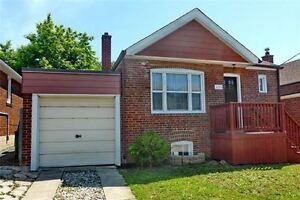 2 Bdrm Detached Bungalow w/ Private Drive And Attached Garage