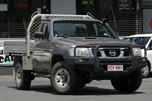 2008 Nissan Patrol GU 6 MY08 ST Silver 5 Speed Manual Cab Chassis Bray Park Pine Rivers Area Preview
