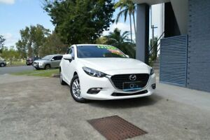 2016 Mazda 3 BN5438 SP25 SKYACTIV-Drive White 6 Speed Sports Automatic Hatchback Ashmore Gold Coast City Preview