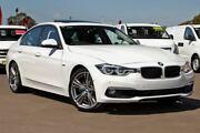2016 BMW 330i F30 LCI Luxury Line White 8 Speed Sports Automatic Sedan McGraths Hill Hawkesbury Area Preview