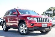 2013 Jeep Grand Cherokee WK MY2013 Laredo Red 5 Speed Sports Automatic Wagon Cannington Canning Area Preview