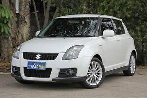 2006 Suzuki Swift RS416 Sport White 5 Speed Manual Hatchback Underwood Logan Area Preview