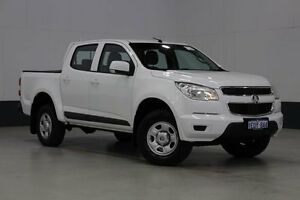 2012 Holden Colorado RG LX (4x2) White 6 Speed Automatic Crewcab Bentley Canning Area Preview