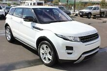 2012 Land Rover Range Rover Evoque  White Sports Automatic Wagon Moonah Glenorchy Area Preview