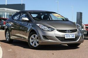 2012 Hyundai Elantra MD Active Bronze 6 Speed Manual Sedan East Rockingham Rockingham Area Preview
