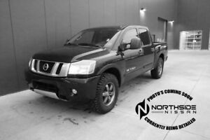 2013 Nissan Titan 4WD CREWCAB PRO-4X Accident Free,  Back-up Cam