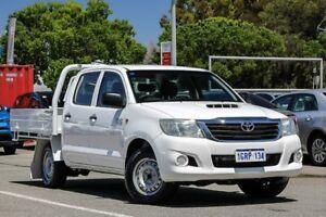 2012 Toyota Hilux White Manual Utility