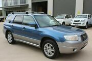 2007 Subaru Forester 79V MY07 XS AWD Luxury Blue 4 Speed Automatic Wagon Mitchell Gungahlin Area Preview