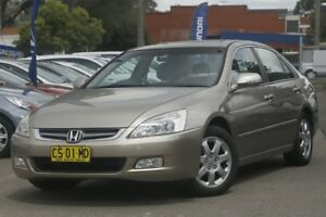 2003 Honda Accord 40 V6 Luxury Silver 5 Speed Automatic Sedan Brookvale Manly Area Preview