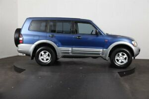 2000 Mitsubishi Pajero NM GLS LWB (4x4) Blue 5 Speed Manual 4x4 Wagon