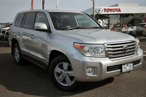 2013 Toyota Landcruiser VDJ200R MY13 Sahara Silver 6 Speed Sports Automatic Wagon Keysborough Greater Dandenong Preview