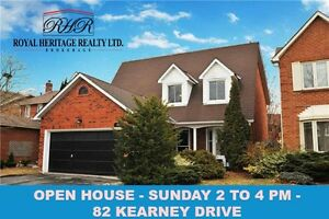 82 KEARNEY DRIVE - OPEN HOUSE - TODAY 2 TO 4