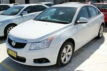 2013 Holden Cruze JH MY13 CD Equipe White 6 Speed Automatic Sedan Maryville Newcastle Area Preview