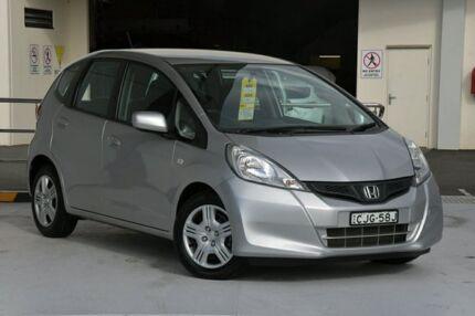 2012 Honda Jazz GE MY12 GLi Silver 5 Speed Automatic Hatchback Robina Gold Coast South Preview