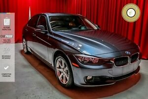 2013 BMW 3 Series SUNROOF! CRUISE CONTROL! BLACK LEATHER SEATS!