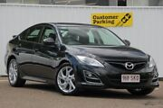 2012 Mazda 6 GH1052 MY12 Luxury Sports Black 5 Speed Sports Automatic Hatchback Chermside Brisbane North East Preview
