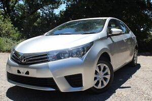2015 Toyota Corolla ZRE172R Ascent S-CVT Silver 7 Speed Constant Variable Sedan Hawthorn Mitcham Area Preview