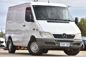 2004 Mercedes-Benz Sprinter 208CDI High Roof SWB White 5 Speed Manual Van Victoria Park Victoria Park Area Preview