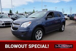2014 Chevrolet Equinox LS Accident Free,  Bluetooth,  A/C,