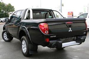 2012 Mitsubishi Triton MN MY13 GL-R Double Cab Black 5 Speed Manual Utility Acacia Ridge Brisbane South West Preview