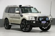 2011 Mitsubishi Pajero NT MY11 GLS LWB (4x4) Gold 5 Speed Auto Sports Mode Wagon Bentley Canning Area Preview