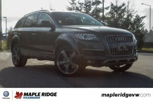2015 Audi Q7 NO ACCIDENTS, BC CAR, AMAZING VALUE!