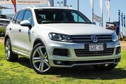 2013 Volkswagen Touareg 7P MY13 V8 TDI Tiptronic 4MOTION R-Line Silver 8 Speed Sports Automatic Wangara Wanneroo Area Preview