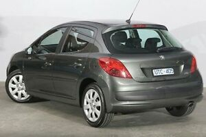2007 Peugeot 207 A7 XT Grey 4 Speed Sports Automatic Hatchback Alexandria Inner Sydney Preview