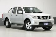 2014 Nissan Navara D40 MY13 RX (4x4) Silver 6 Speed Manual Dual Cab Pick-up Bentley Canning Area Preview