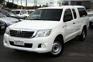 2012 Toyota Hilux  White Automatic Utility Frankston Frankston Area Preview
