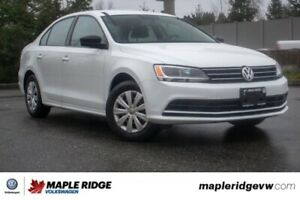 2016 Volkswagen Jetta Sedan Comfortline NO ACCIDENTS, BC CAR, MA