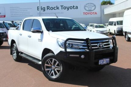 2015 Toyota Hilux GUN126R SR5 Double Cab White 6 Speed Sports Automatic Utility Balcatta Stirling Area Preview