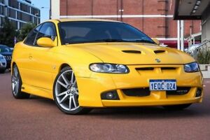 2005 Holden Special Vehicles Coupe VZ Series GTO Yellow 4 Speed Automatic Coupe