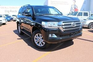 2016 Toyota Landcruiser VDJ200R VX Black 6 Speed Sports Automatic Wagon Westminster Stirling Area Preview