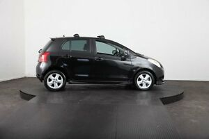 2008 Toyota Yaris NCP91R 06 Upgrade YRX Black 5 Speed Manual Hatchback Mulgrave Hawkesbury Area Preview