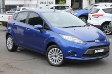 2013 Ford Fiesta WZ Trend PwrShift Blue 6 Speed Sports Automatic Dual Clutch Hatchback Brookvale Manly Area Preview