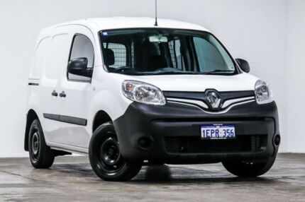 2014 Renault Kangoo F61 Phase II Mineral White 4 Speed Automatic Van Welshpool Canning Area Preview