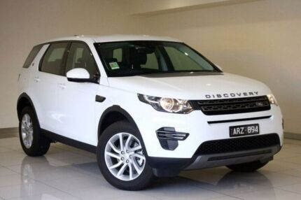 2017 Land Rover Discovery Sport L550 17MY TD4 150 SE Fuji White 9 Speed Sports Automatic Wagon Doncaster Manningham Area Preview