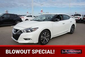 2016 Nissan Maxima SV Navigation (GPS),  Leather,  Heated Seats,