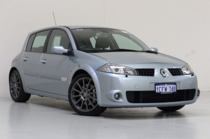 2005 Renault Megane X84 Sport Cup Silver 6 Speed Manual Hatchback Bentley Canning Area Preview