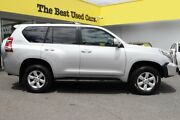 2014 Toyota Landcruiser Prado KDJ150R MY14 GXL Silver 5 Speed Sports Automatic Wagon Woolloongabba Brisbane South West Preview
