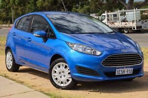 2014 Ford Fiesta WZ Ambiente PwrShift Blue 6 Speed Sports Automatic Dual Clutch Hatchback Wangara Wanneroo Area Preview