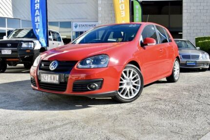2008 Volkswagen Golf V MY08 GT DSG Sport Red 6 Speed Sports Automatic Dual Clutch Hatchback East Brisbane Brisbane South East Preview