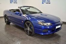2000 Nissan Silvia S15 Varietta Blue Automatic Convertible Lansvale Liverpool Area Preview