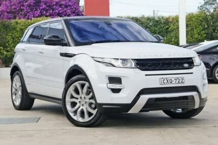 2015 Land Rover Range Rover Evoque L538 MY15 SD4 Coupe Dynamic White 9 Speed Sports Automatic Wagon