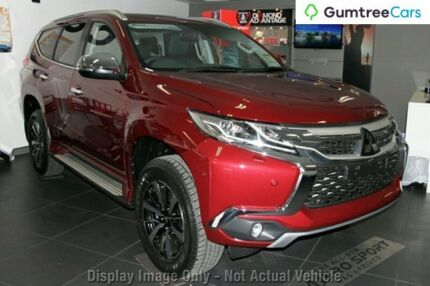 2016 Mitsubishi Pajero Sport QE MY17 Exceed Red 8 Speed Sports Automatic Wagon